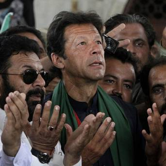 Injured Khan Urges the Nation to Take the Chance