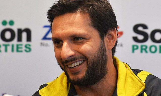 Afridi announces 'end of service' as Peshawar Zalmi player