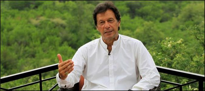 People of Sindh in dire need of change: Imran Khan